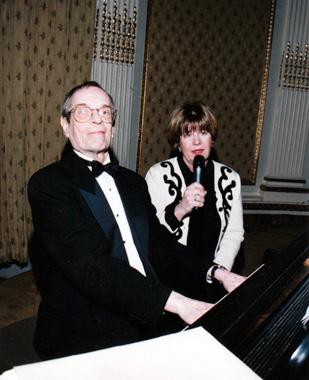 Paul Trueblood and Carmel Owen